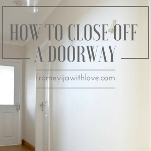 how-to-close-off-door-square