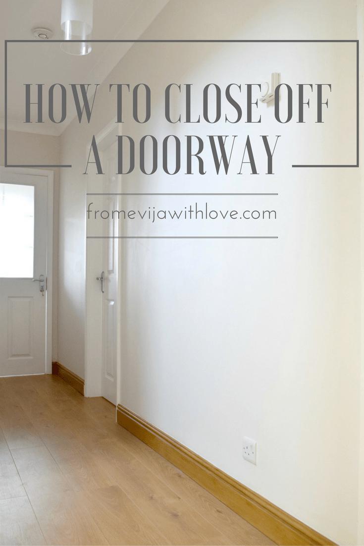 How To Close Off Door