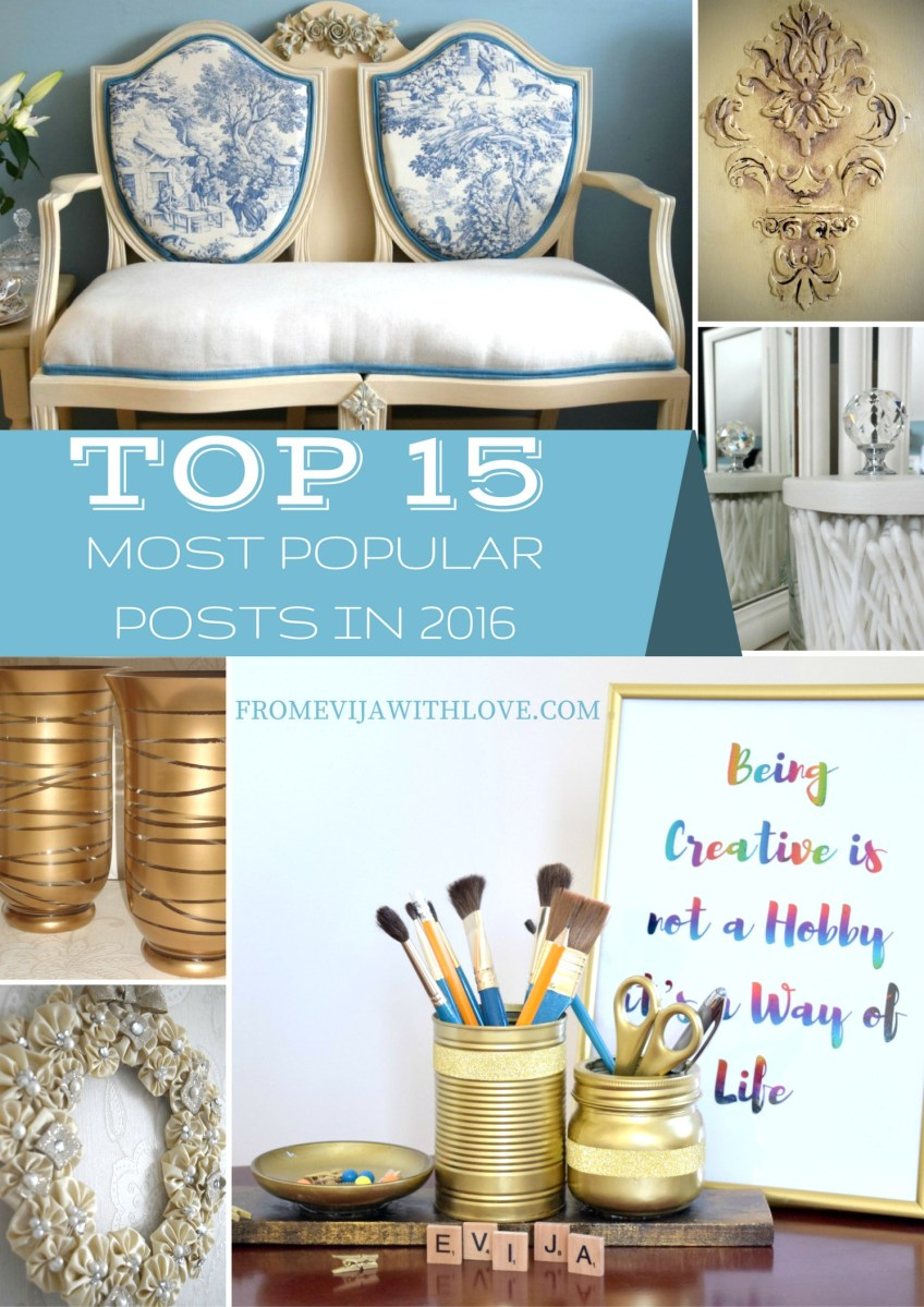 Readers Choice - Top 15 of the Most Popular Posts of 2016