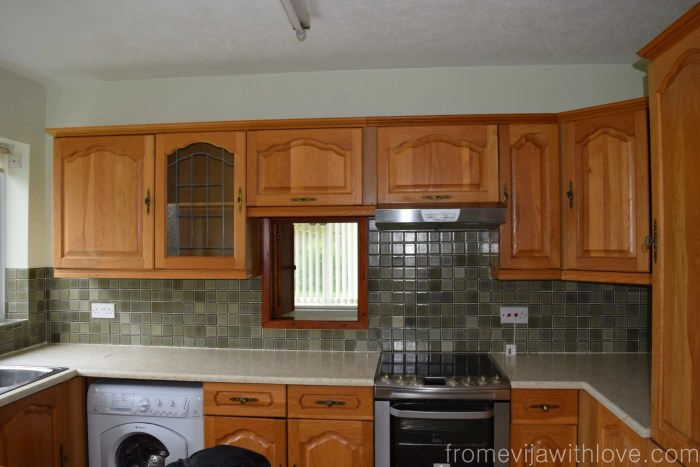 Kitchen renovation how to modernise old kitchen