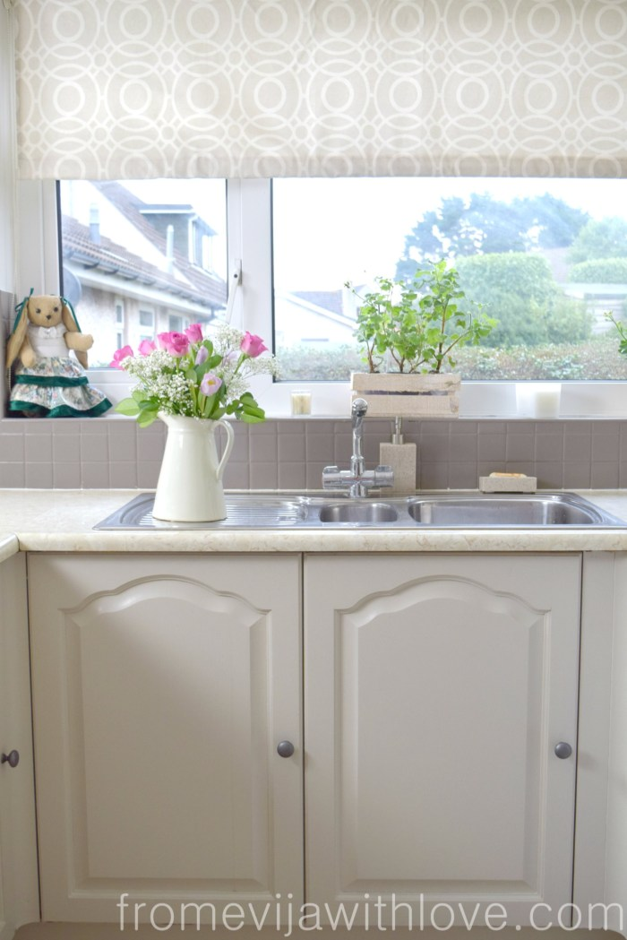 Quick and Easy Kitchen Makeover - DIY Painted Cabinets ...