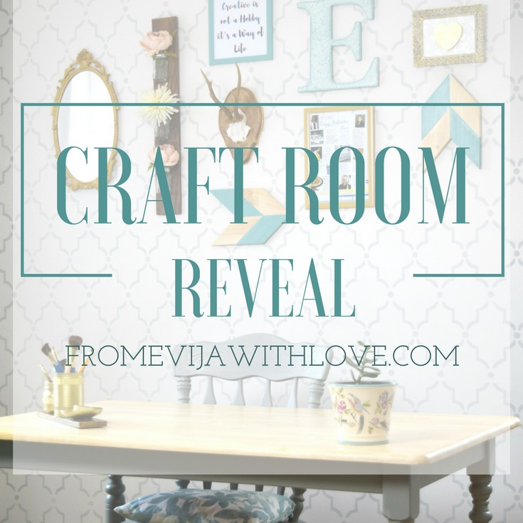 How I Created MY Dream Craft Room on a Budget - The BIG REVEAL