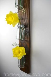 Making Hanging Wall Vase Pallet - Evija With