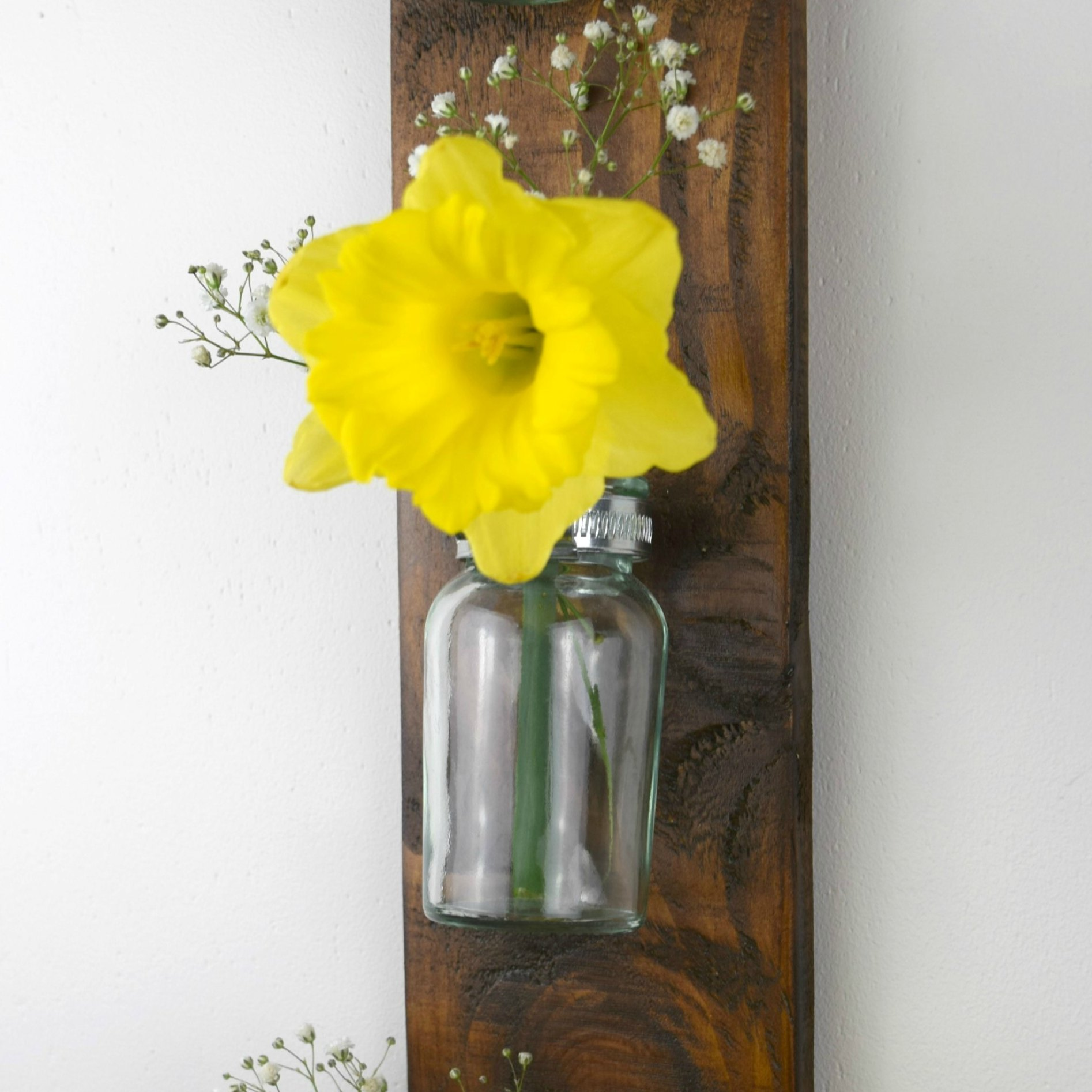 Making A Hanging Wall Vase From A Pallet From Evija With