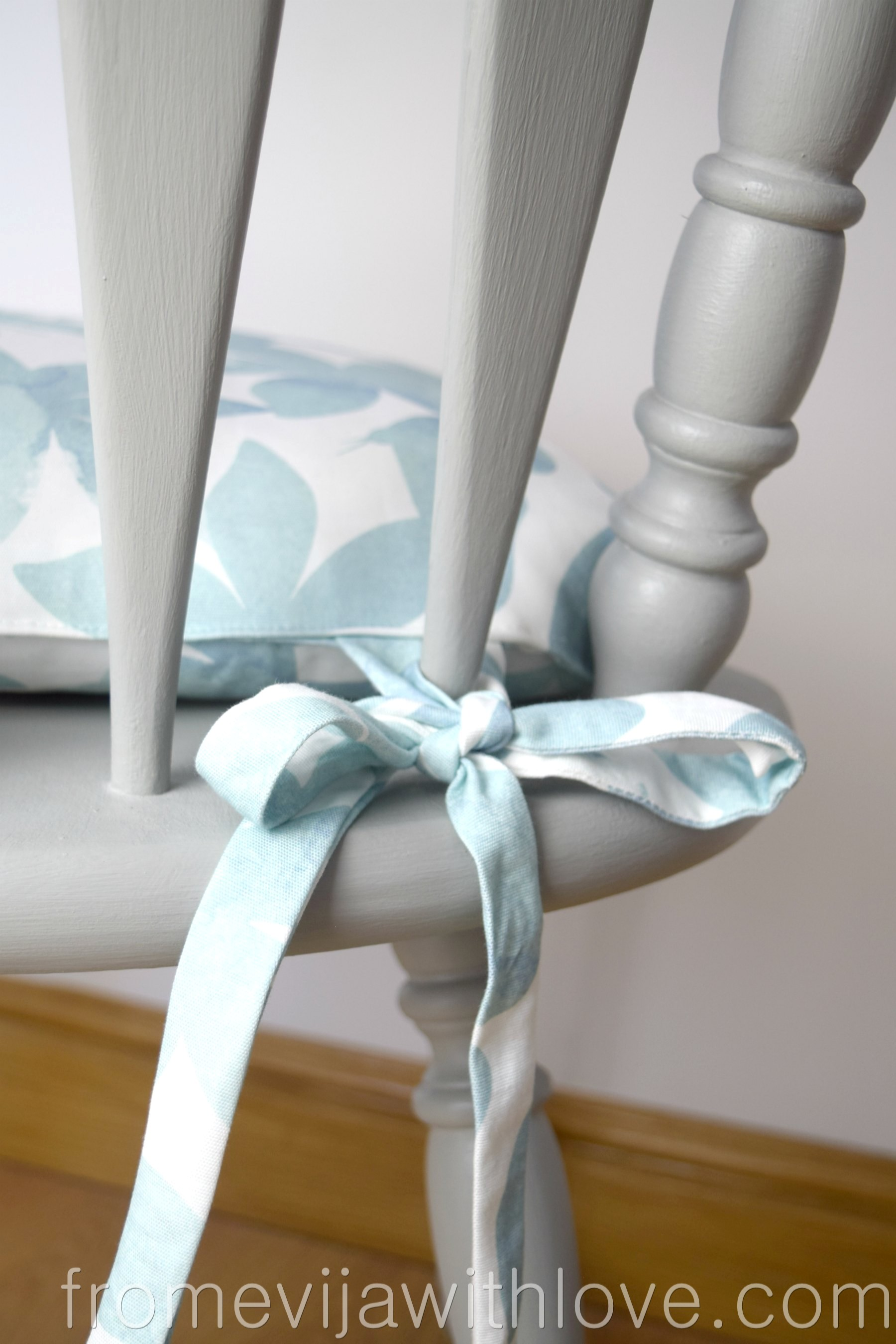 chair cushions with tie backs office pillow back support how to make for curtains from evija love