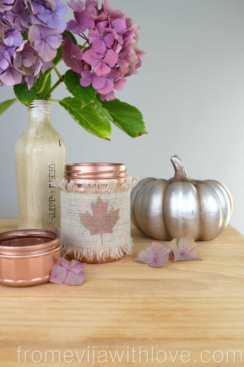 Create a Beautiful and Easy Fall Decor in 10 Minutes!