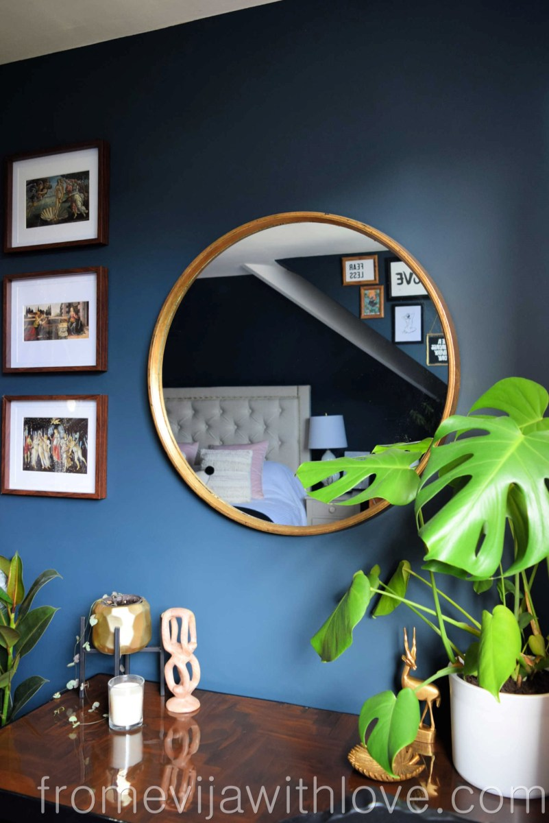 Plastic Mirror Turned Into a Luxurious Looking Piece for under 20£