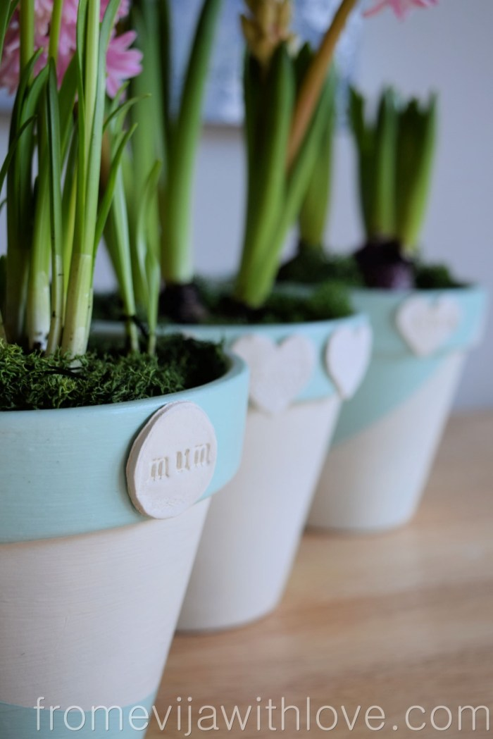 Mother's Day plant pot gift idea