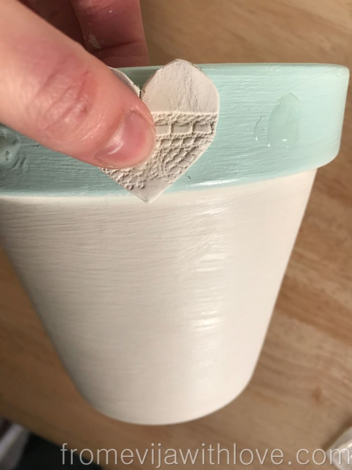 mother's day gift plant pot DIY