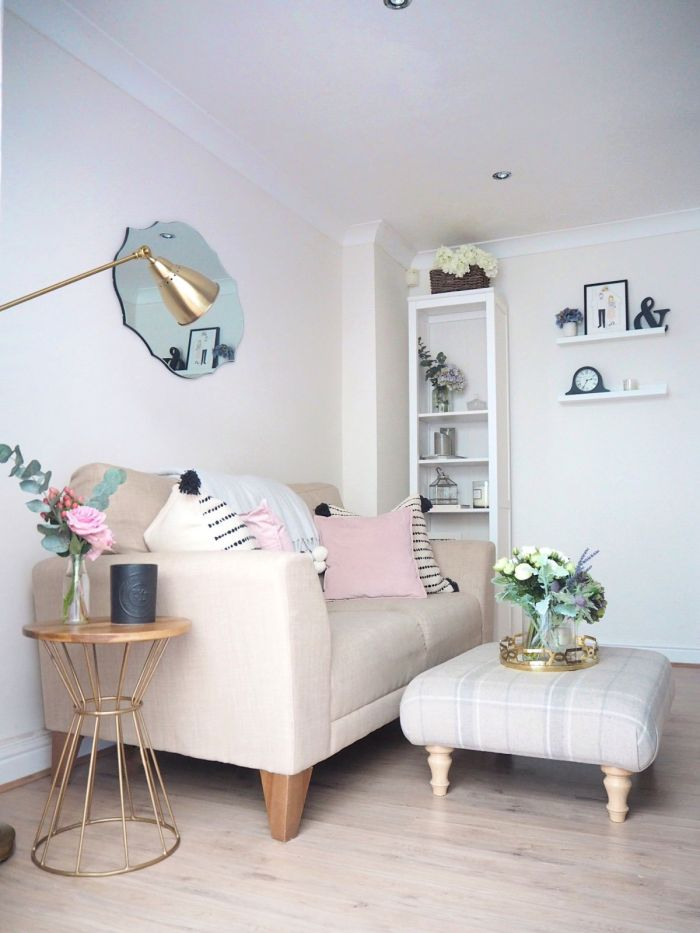 Dove Cottage Blog - Beautiful Living Room - Decorating Style