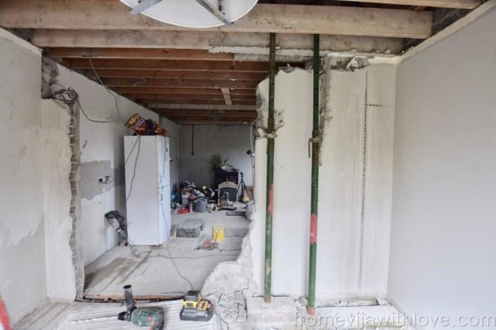Kitchen Renovation Diaries - load bearing wall