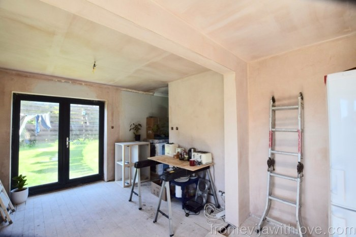 Load Bearing Wall removal and plastered walls