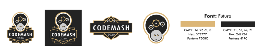 CodeMash Logo variations