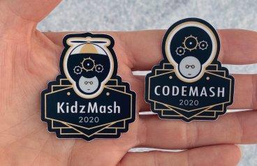 CodeMash and KidzMash Sticker Designs