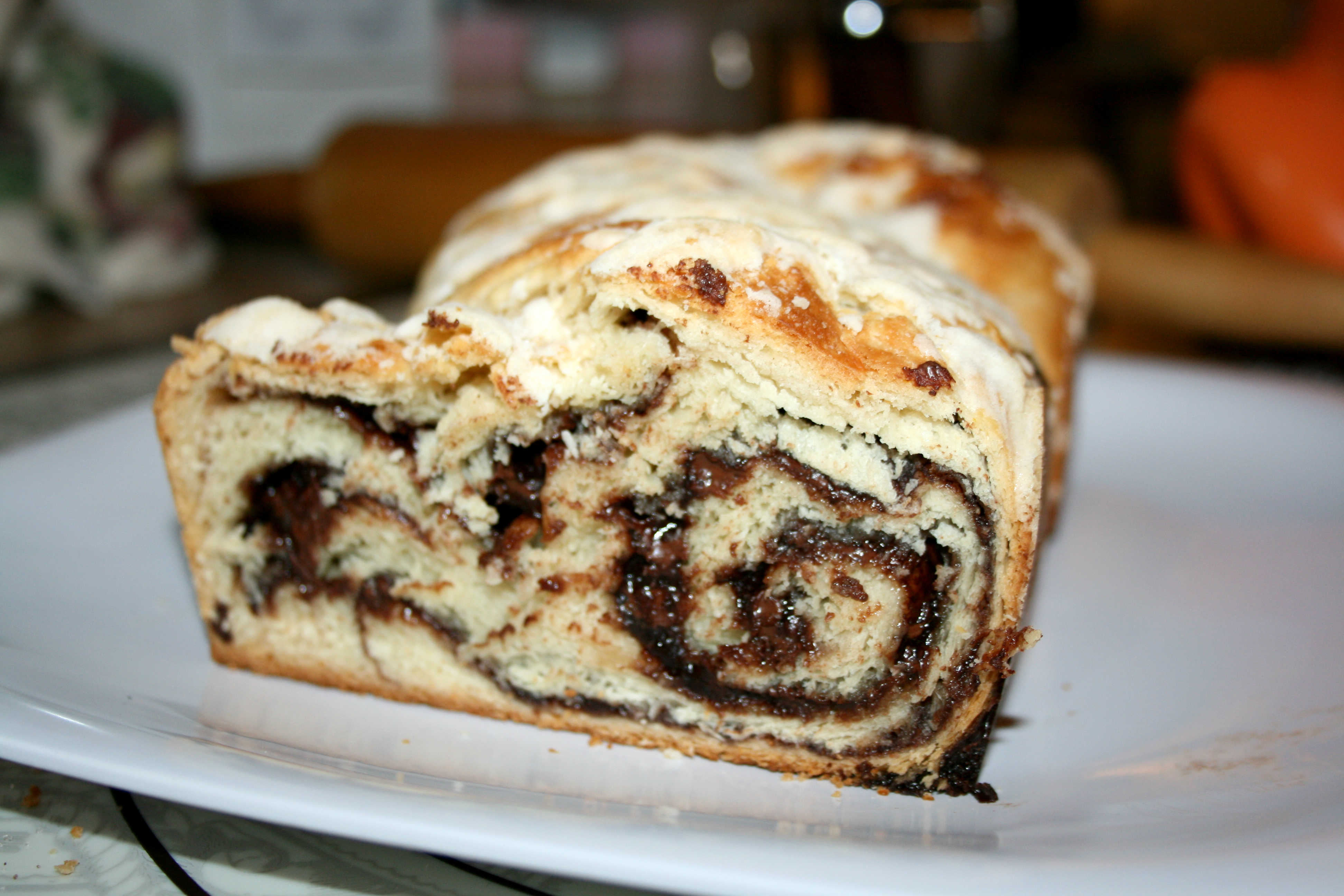 Chocolate Babka Bread | From Foodie with Love