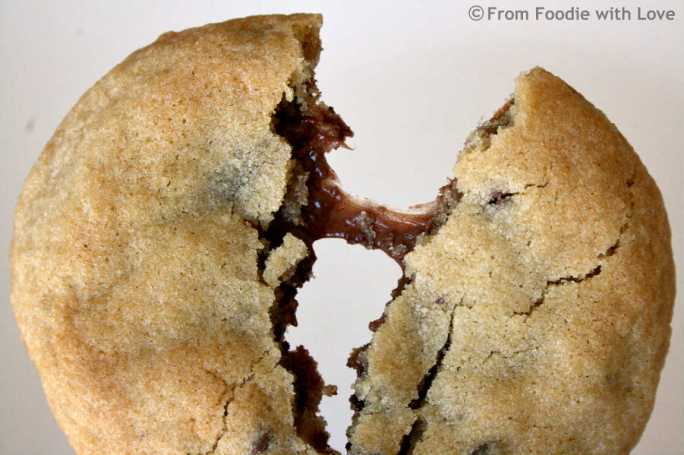 Chocolate Chip Rolo Cookie