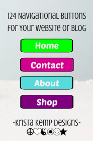 Add a little flair to your website or blog with these vibrant navgation buttons