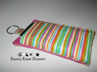 Striped Fabric iPhone Case