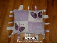 Butterfly Taggy Pillow-Krista Kemp Design's