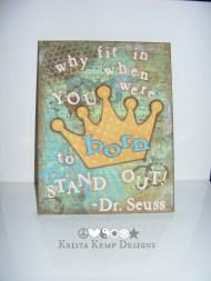 Dr. Seuss Canvas-It's time to stand out!