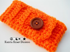 Orange Coffee Mug Cozy