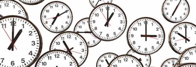 Clock's ticking!