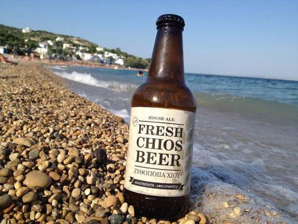 Greek beer review #3: Chios (ΧΙΟΣ)