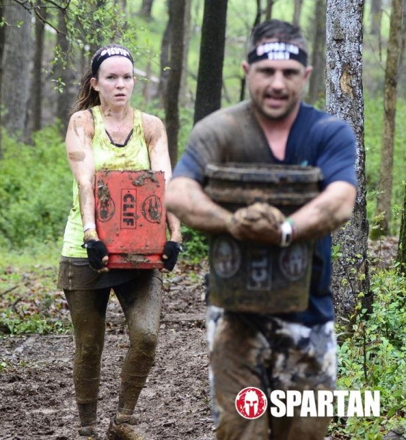 Jessica Small at the Charlotte Spartan Race Sprint April '18