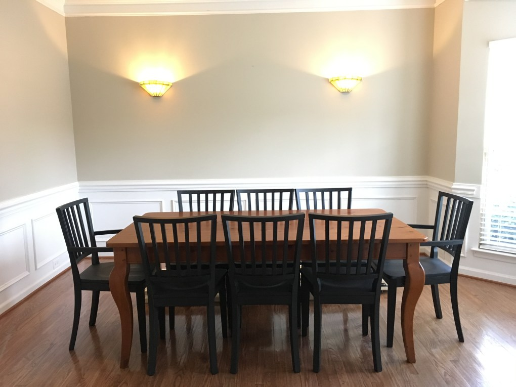 """Dining room """"Before"""""""