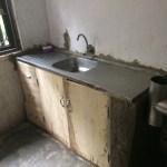Finished: kitchen sink
