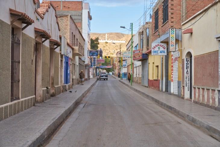 Tupiza street