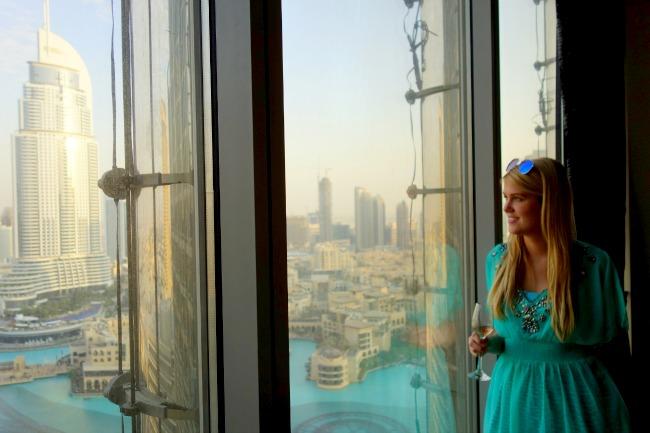 Private apartment in Burj Khalifa