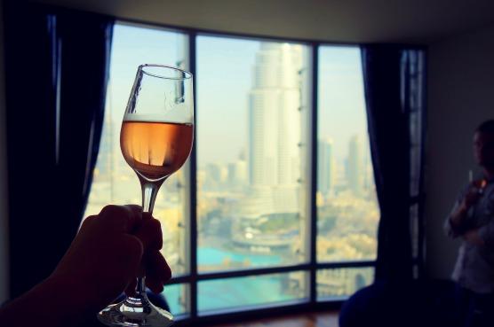 Wine glass - Burj Khalifa