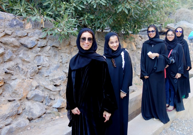 Beautiful girls in Oman