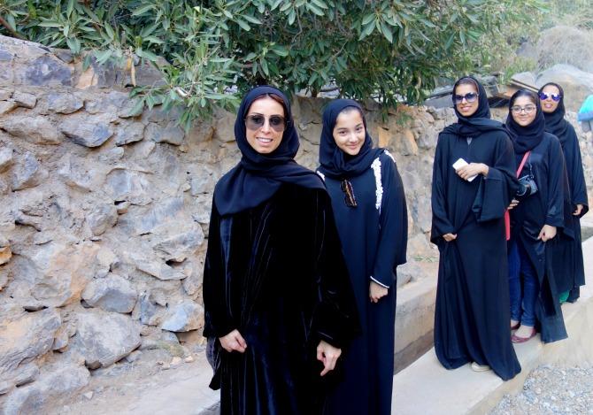 Beautiful girls in Oman
