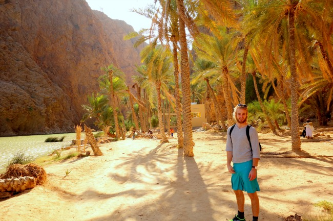Walking around in Wadi Shap
