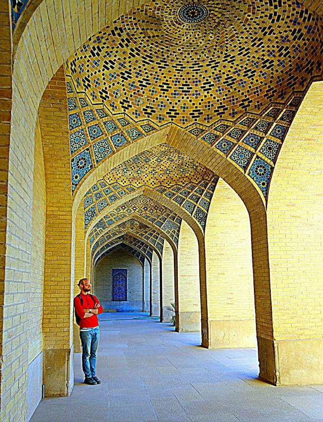 Nazir al Mulk Mosque, Shiraz, Iran