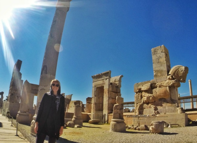 Ancient Persepolis in Shiraz, Iran