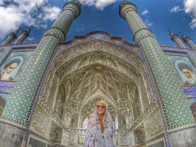 the shrine of Hilal Ibn Ali