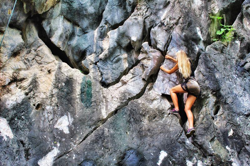 Boomerang Rock Climbing Chiang Rai
