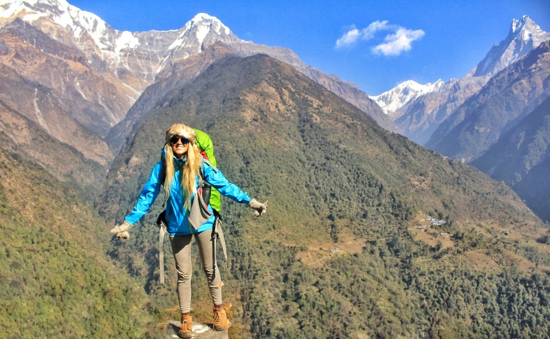 Annapurna Base Campl Nepal Hike 1we