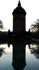 The water tower in Mannheim