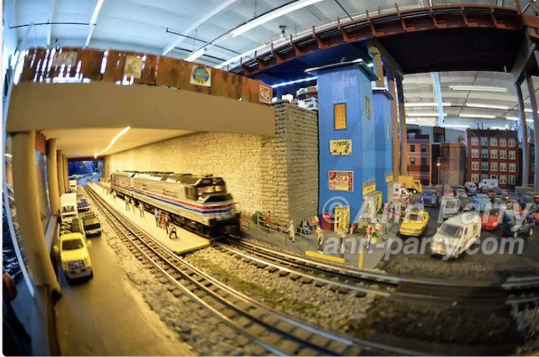 TMB Model Train Club's O-mazing Open House