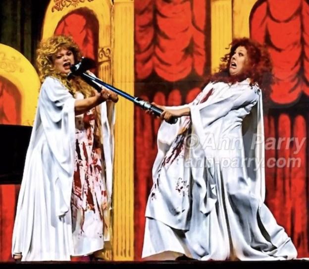 Duelling Divas' Humor on the High Cs, in Merrick, NY, 2010