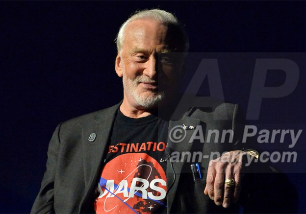 Buzz Aldrin at Cradle of Aviation Museum 2015