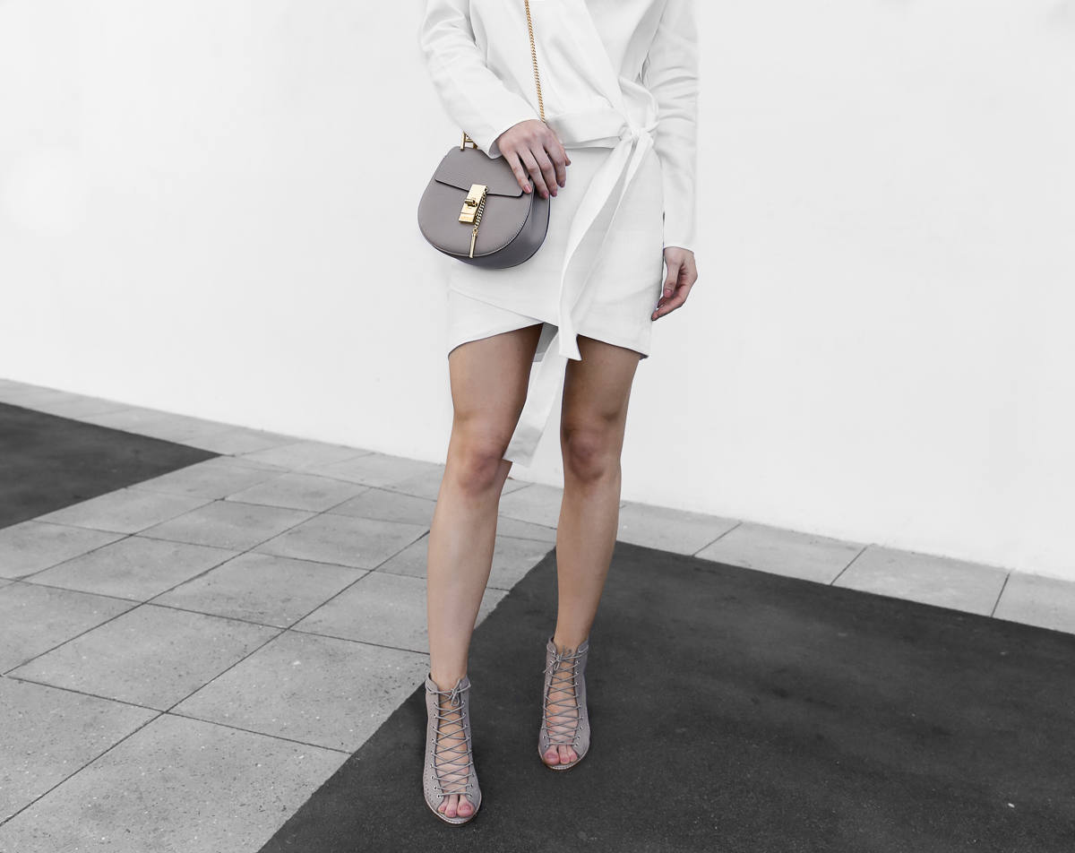 All white outfit Jo Mercer Yulian Shoes