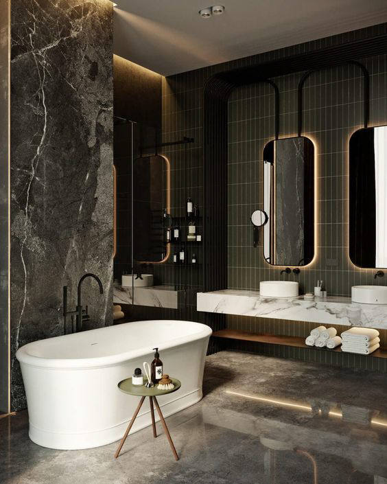 Interior Goals: 25+ Amazing Luxury Bathrooms