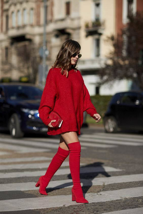10 Ways To Wear Over The Knee Boots From Luxe With Love