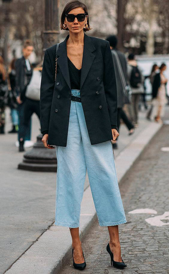 oversized blazer street style fashion