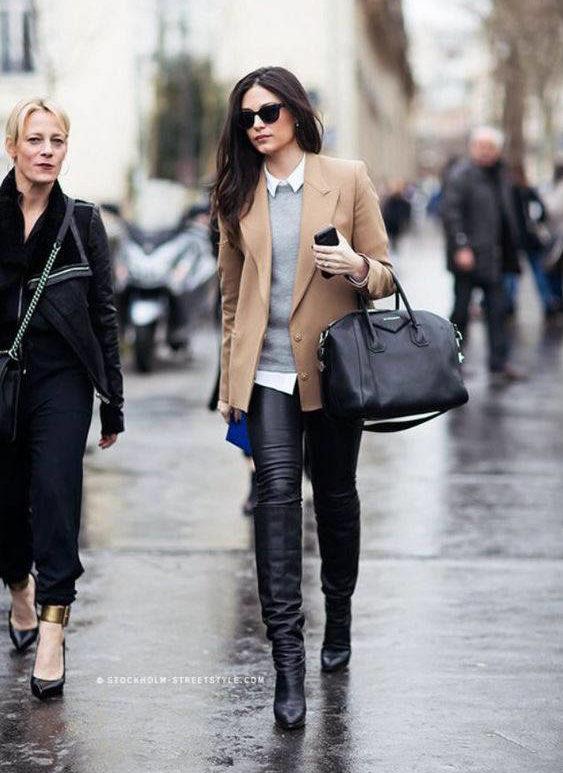 Givenchy Antigona street style outfit